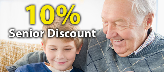 10% Plumbing Senior Discount when you call a  Potts Point plumber